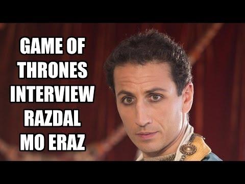 Game of Thrones Razdal mo Eraz Interview - George Georgiou | MTW