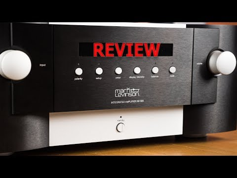 Mark Levinson No. 585 Review HiFi Integrated Amplifier Dac Full Review
