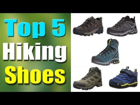 Top 5 Best Hiking Shoes 2019