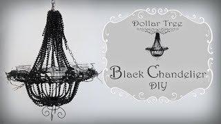 Chandelier DIY / Halloween Chandelier / Dollar Tree DIY