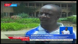 Tristan Voorspuy gets cremated at his Deloraine farm in Rongai constituency