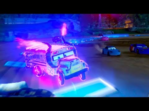 Miss Fritter Is SCARY! Cars 3 Driven To Win
