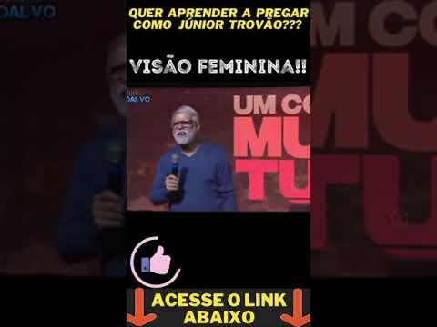 Pastor Cludio Duarte VISO FEMININA #shorts