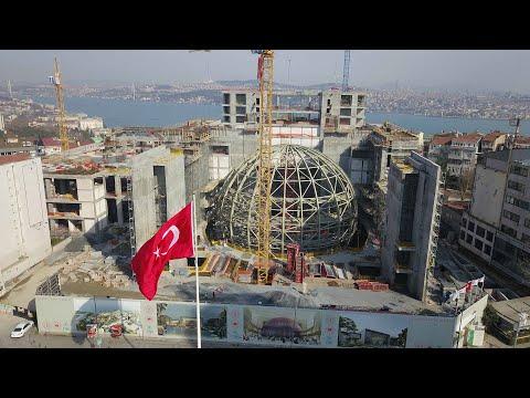 Yeni Atatürk Kültür Merkezi(AKM)'nin oditoryumu ortaya çıktı