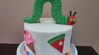 How To: The Very Hungry Caterpillar Cake Tutorial