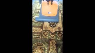 Профессиональный щеточный пылесос для уборки большой поверхности  TASKI Tapiset 70 от компании ВАСП-ТРЕЙД - видео