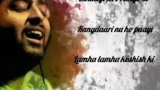 whatsapp video || Rangdaari || Arijit Singh unplugged 2019 || friendship day || Instagram video