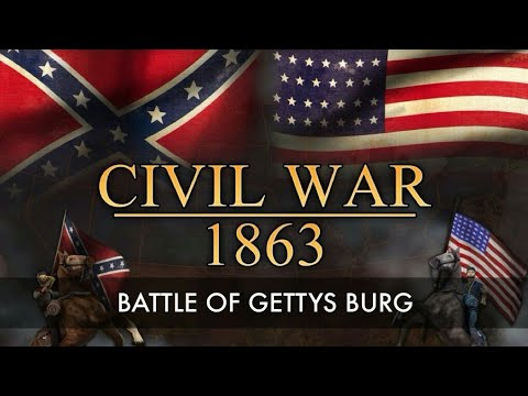 'American Civil War - The Battle of Gettysburg 1863. (2011)' - Full Documentary. - High quality production value! - [01:25:47]