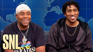 Weekend Update: TwinsTheNewTrend on Songs They've Never Heard Before - SNL