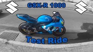 SUZUKI Gsx-R 1000 🏍️Test Ride🏍️