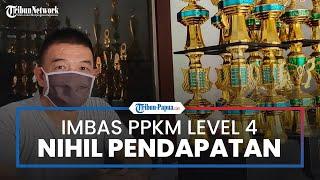 Imbas PPKM Level 4, Pedagang Piala di Jayapura Nihil Pendapatan