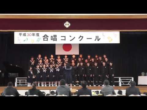 豊川市立中部中学校3年2組「青葉の歌」(2018年度最優秀賞)