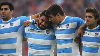 Argentina cry during emotional National Anthem