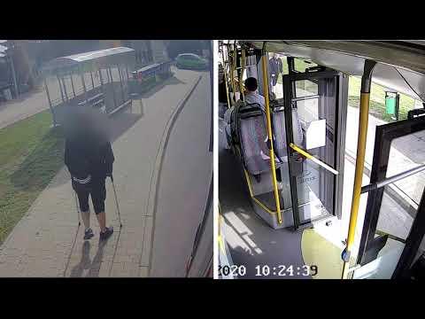 Wideo1: Czy kierowca MZK zachował się niewłaściwie?