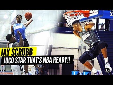 TOP-RANKED JUCO PLAYER JAY SCRUBB IS NBA READY!! JOHN A LOGAN BASKETBALL JAMBOREE HIGHLIGHTS!