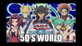 Legendary Duel Links - 5DS WORLD UNLOCKED!!