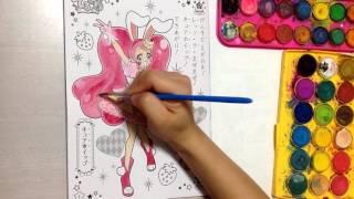キュアホイップ キラキラ☆プリキュア アラモード ぬりえ Kirakira★Precure A la mode coloring pages