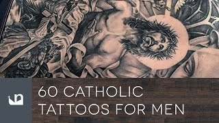 60 Catholic Tattoos For Men