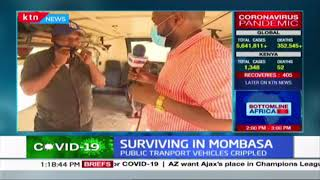 Surviving in Mombasa: Public transport vehicles crippled, vehicles now ferrying food produce