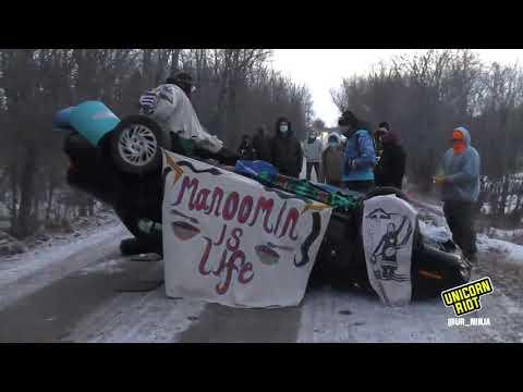 [LIVE] Road Blockades Aim to Halt Line 3 Pipeline Construction