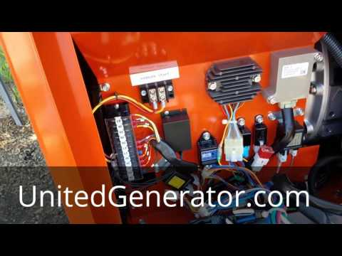Download Auto Start For Diesel Generators Featuring A Kubota Diesel Generator HD Mp4 3GP Video and MP3