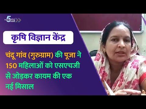 कृषि विज्ञान केंद्र से जुड़ कर पूजा ने 150 महिलाओं को एसएचजी से जोड़ा