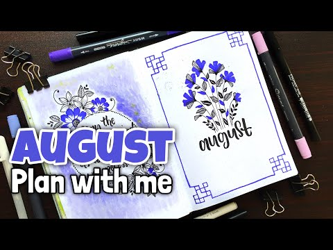 Download How To Doodle Flowers In Your Bullet Journal Plan With Me