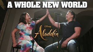 A WHOLE NEW WORLD   Disney's Aladdin   Father & Daughter Cover JillianTubeHD Ft. DTSings