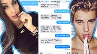 Pranking my EX with Justin Bieber's 'Let Me Love You' Lyrics