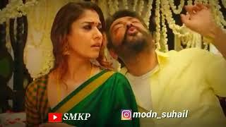 Neethane Ponjathi Nane Unn Saripathi 2019 Status | ViswAsam Movie Songs |  Cute Lovely Status | SMKP