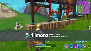 Fortnite first win in squads with my girlfriend help- filmora water marrk in the way yay
