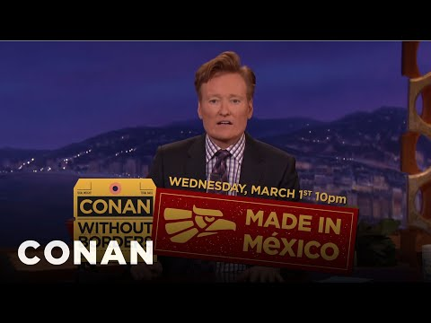 Conan vyráží do Mexika! - CONAN