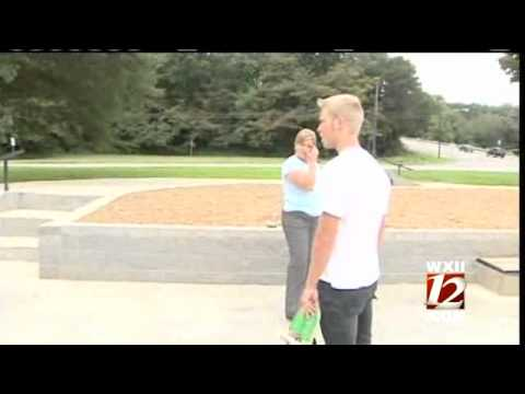 Some Skaters Breaking Rules At New Skatepark