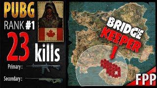 PUBG Rank 1 - Kaymind 23 kills [NA] SOLO FPP - PLAYERUNKNOWN