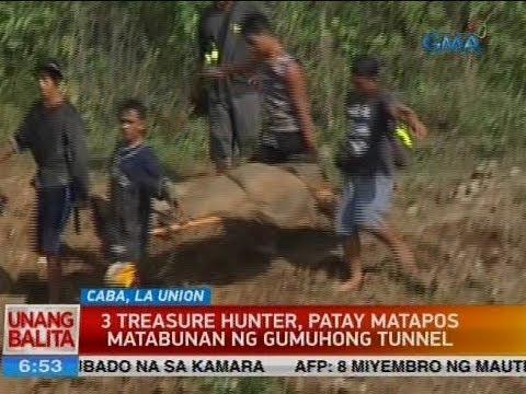 UB: 3 treasure hunter, patay matapos matabunan ng gumuhong tunnel