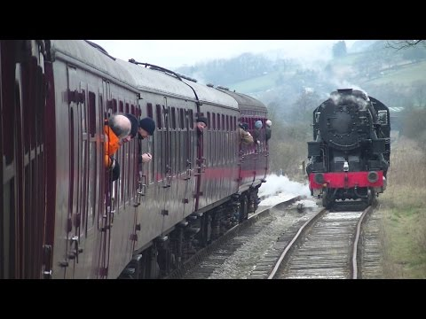 Churnet Valley Railway Steam Gala Saturday 27th February 201…