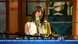 Invincible -- Chantal Kreviazuk (AM Soundstage)