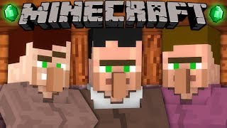 If Villagers Had Hair   Minecraft