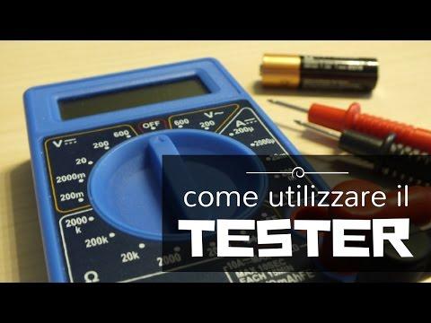 Come imparare a usare un tester / multimetro e come controllare la carica delle batterie