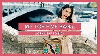 MY TOP 5 FAVORITE BAGS: WORKWEAR EDITION | Heart Evangelista