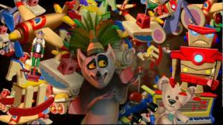 King Julien- Santa Claus is Coming to Madagascar (Music Vid)