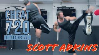 Scott Adkins Cheat 720 Hook Kick Tutorial