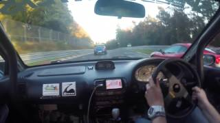Subaru Impreza Turbo vs Honda Integra Type R DC2 Nurburgring Nordschleife Battle