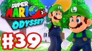 Super Mario Odyssey   Gameplay Walkthrough Part 39   Luigi's Balloon World DLC! (Nintendo Switch)