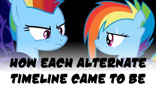 MLP Theory - How Each Alternate Timeline Came To Be