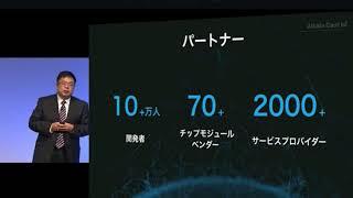 Softbank 孫正義 world 2018 AI,Iot 講演 アリババ 他