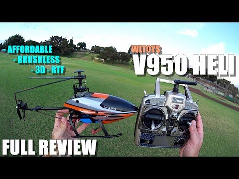 WLtoys V950 Brushless 3D RTF Helicopter – Full Review – [Unboxing, Flight/CRASH Test, Pros & Cons]