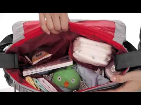 Skip Hop Via Messenger Bag Wickeltasche
