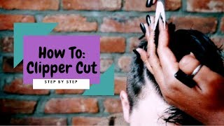How To: Clipper Haircut (Undercut) | Faded & Blended With Scissors