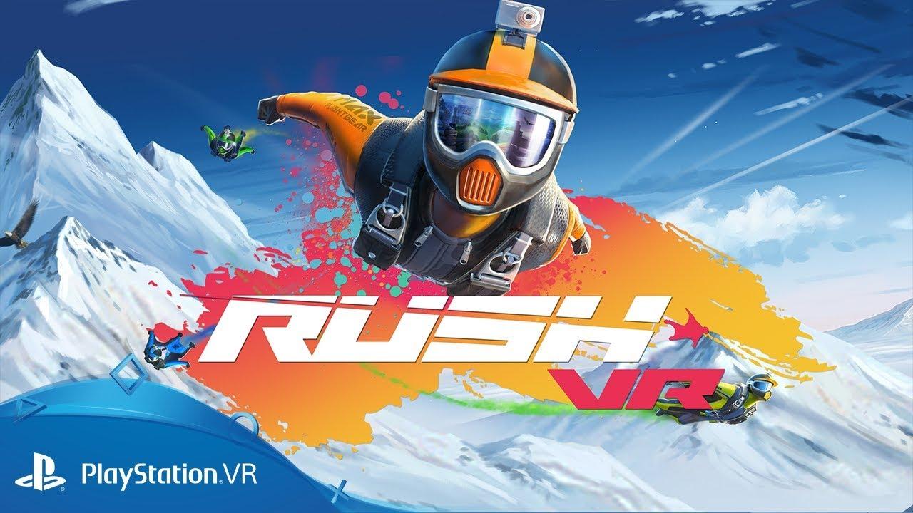 Impara le basi del volo con tuta alare prima della pubblicazione del gioco di sport estremi Rush VR, disponibile da domani su PS VR